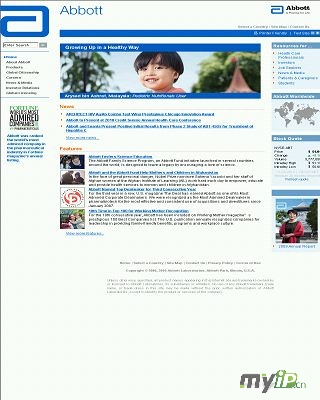 雅培官方网站